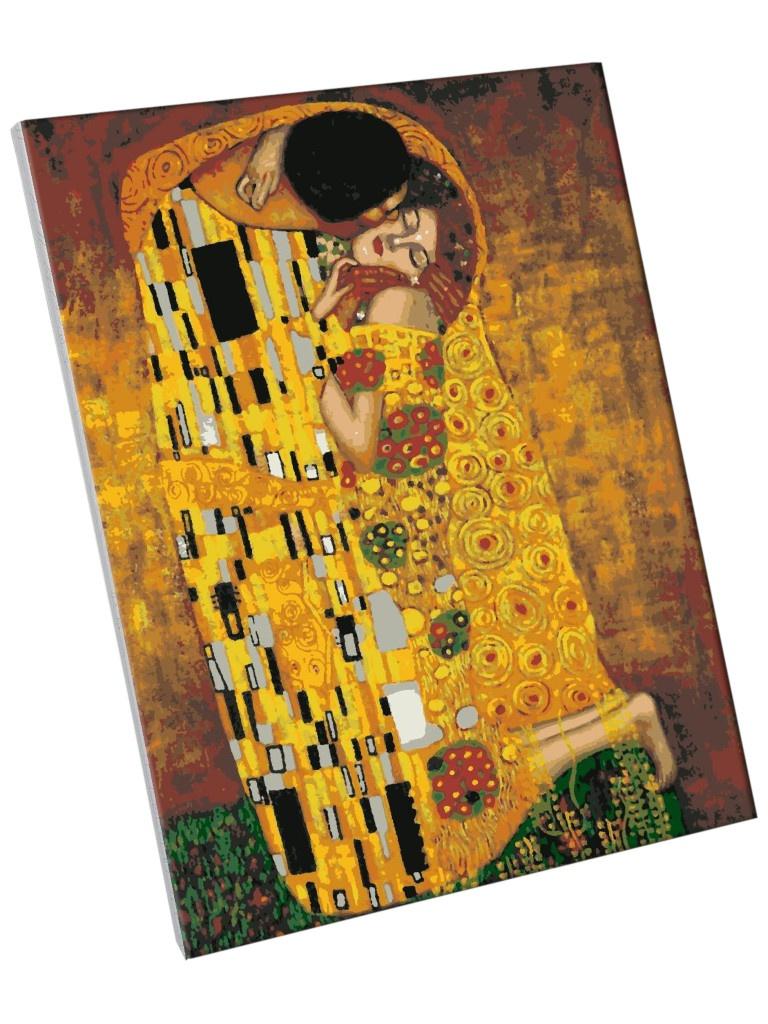 Фото - Картина по номерам Школа талантов Поцелуй. Густав Климт 40x50cm 5134999 картина по номерам школа талантов мона лиза леонардо да винчи 40x50cm 5135000
