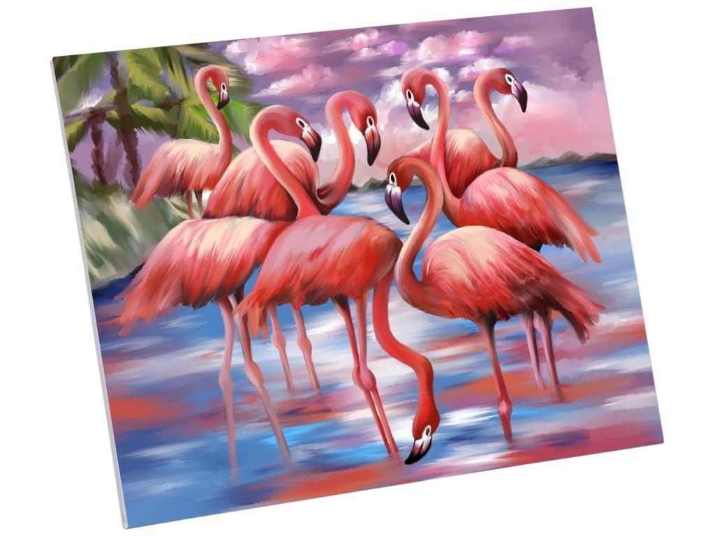 Картина по номерам Школа талантов Фламинго 40x50cm 5248137