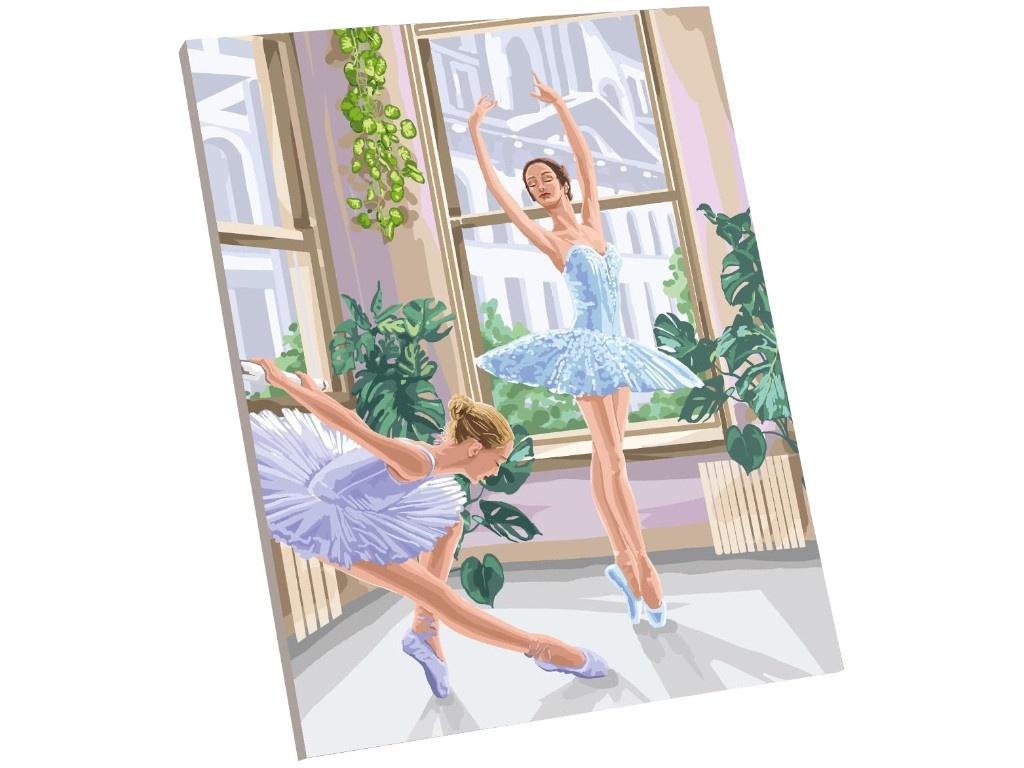 Фото - Картина по номерам Школа талантов Балерины 40x50cm 5005792 картина по номерам школа талантов мона лиза леонардо да винчи 40x50cm 5135000