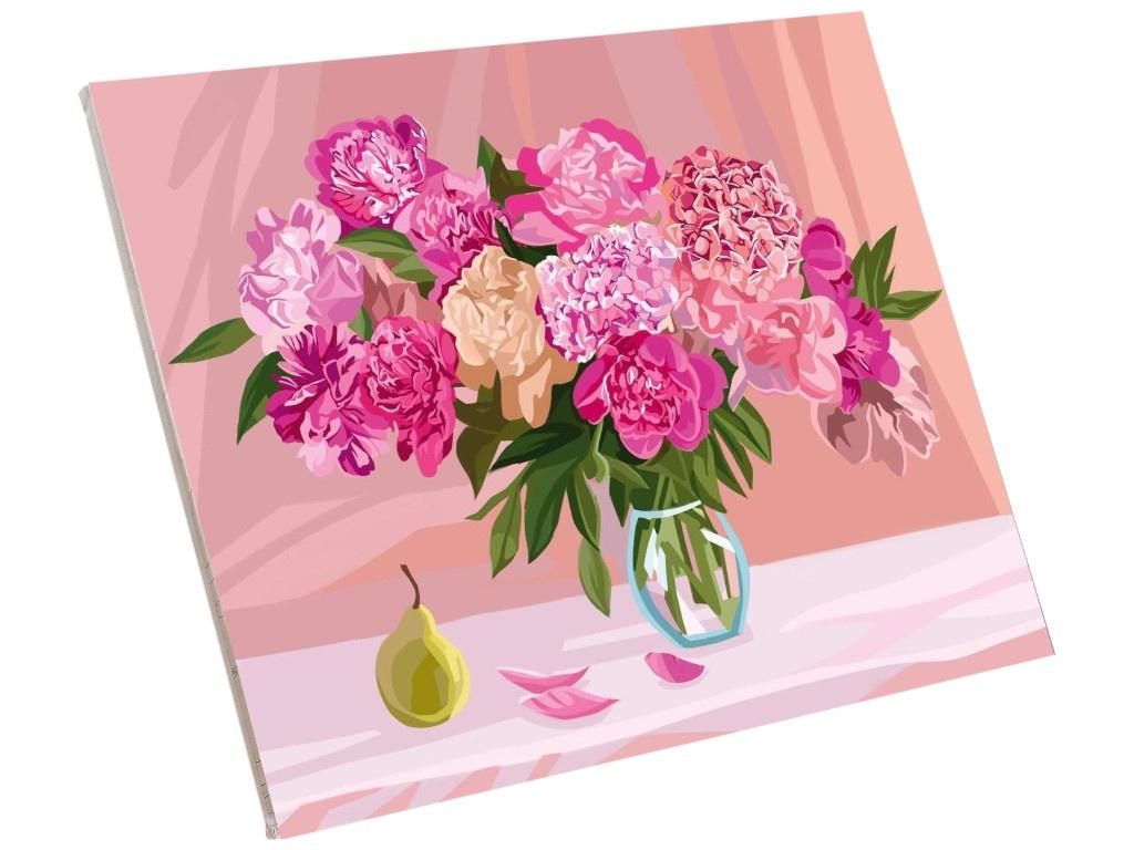 Фото - Картина по номерам Школа талантов Пионы 40x50cm 5005800 картина по номерам школа талантов мона лиза леонардо да винчи 40x50cm 5135000