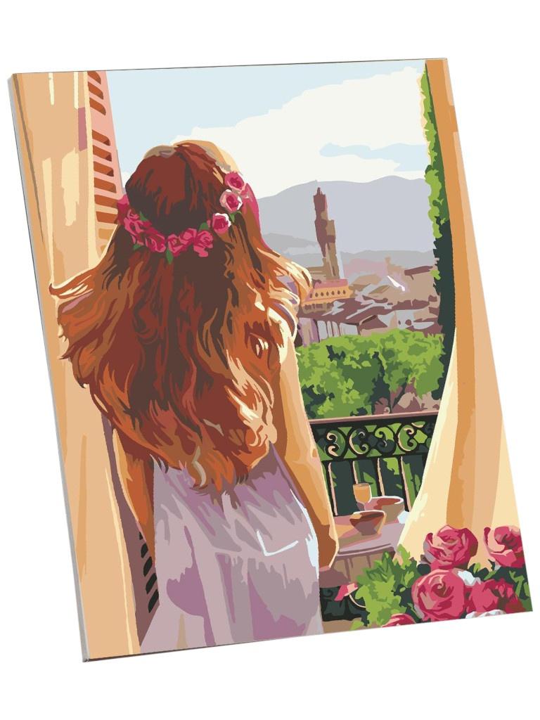 Картина по номерам Школа талантов Утро в Италии 40x50cm 5351099
