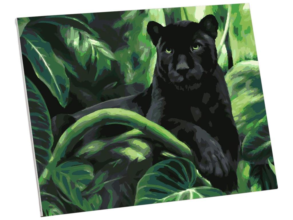 Картина по номерам Школа талантов Пантера 40x50cm 5351088