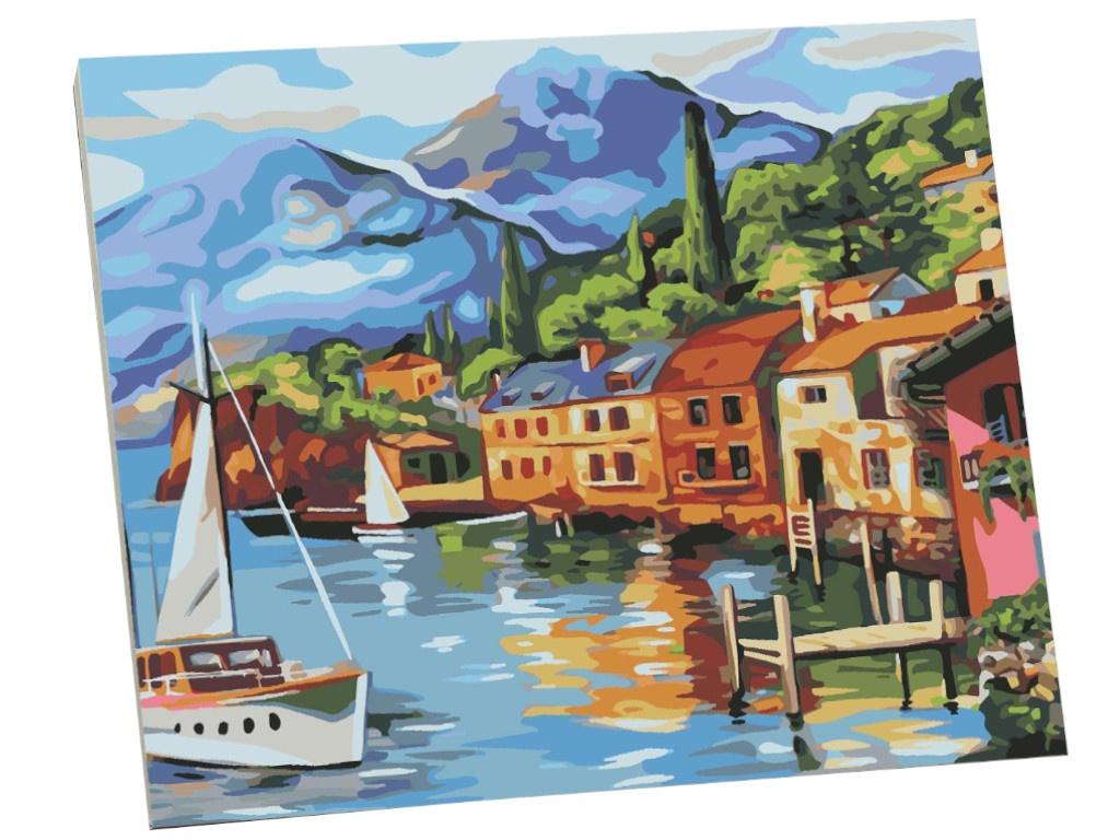 Картина по номерам Школа талантов Залив 40x50cm 5351101