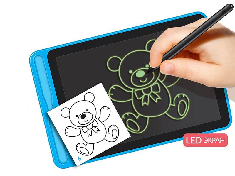 Графический планшет Планшет для рисования с трафаретами Zabiaka 4420899
