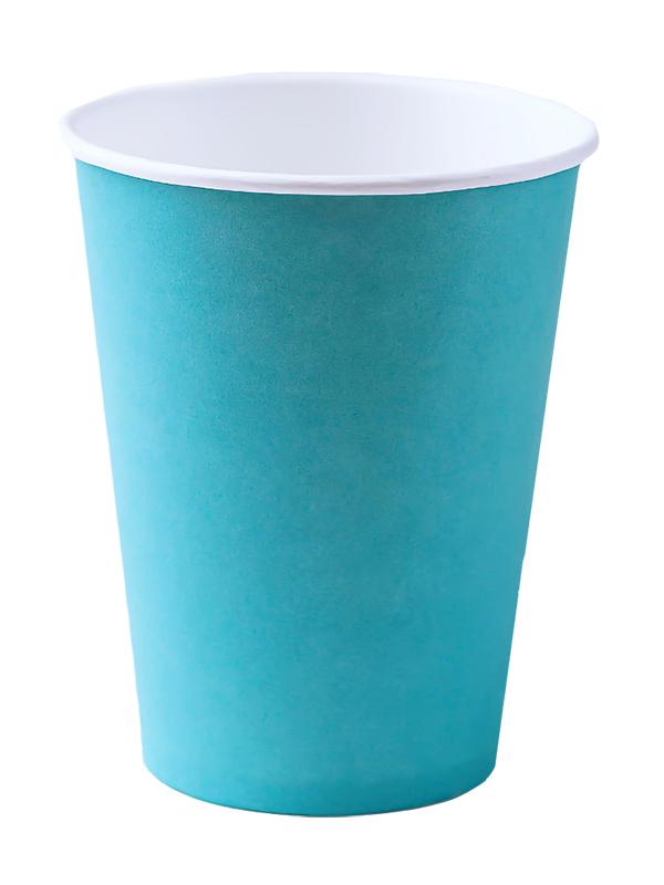 Одноразовые стаканы Ecovilka 250ml 50шт БСОБР250Ф