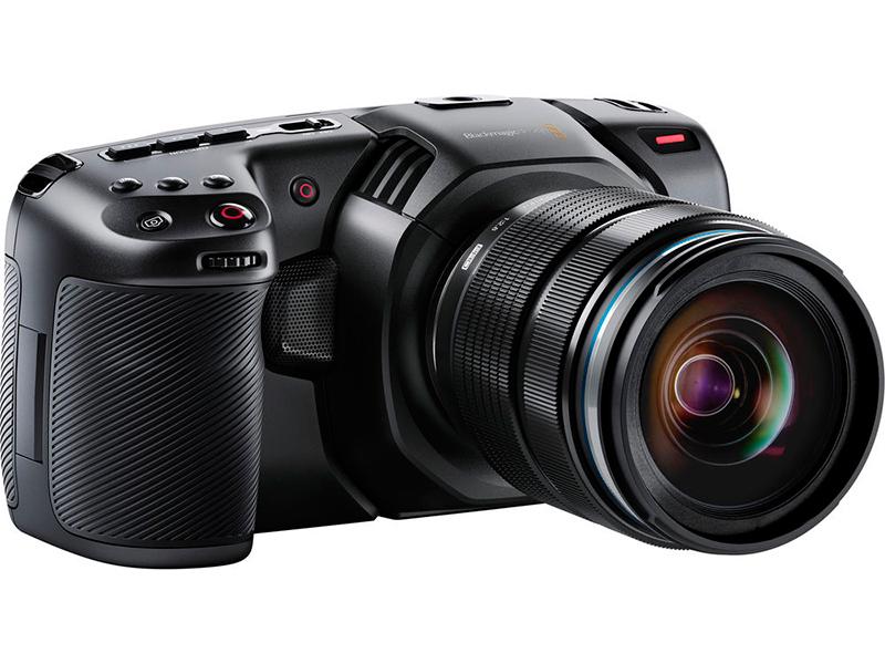 Фото - Видеокамера Blackmagic Pocket Cinema Camera 4K видеокамера zoom q2n 4k черный