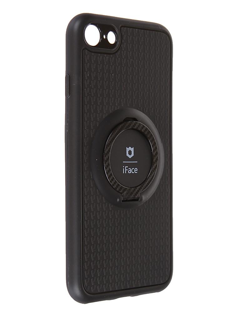 Чехол Innovation для APPLE iPhone SE (2020) с держателем iFace и кольцом 19604 чехол innovation для apple iphone se 2020 silicone blue 17022