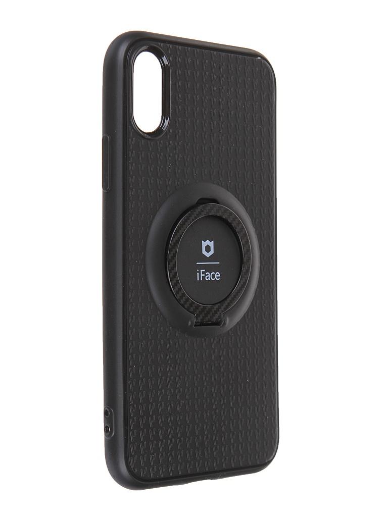 Чехол Innovation для APPLE iPhone X / XS с держателем iFace и кольцом 19605