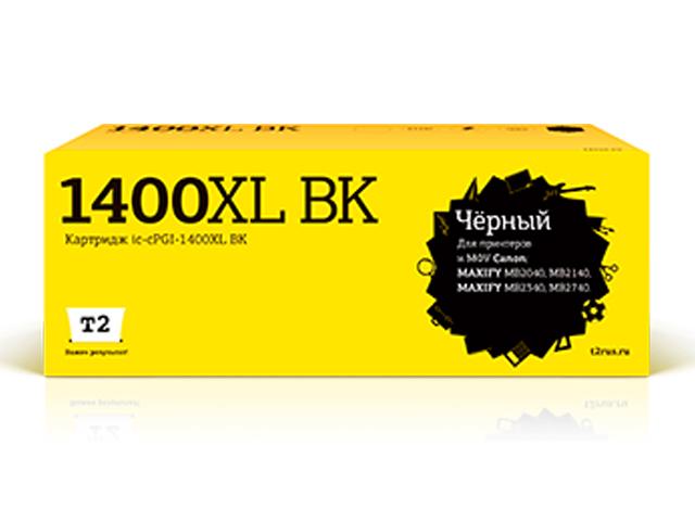 Фото - Картридж T2 IC-CPGI-1400XL Black для Canon Maxify MB2040/MB2140/MB2340/MB2740 картридж t2 ic cpgi 520bk совместимый