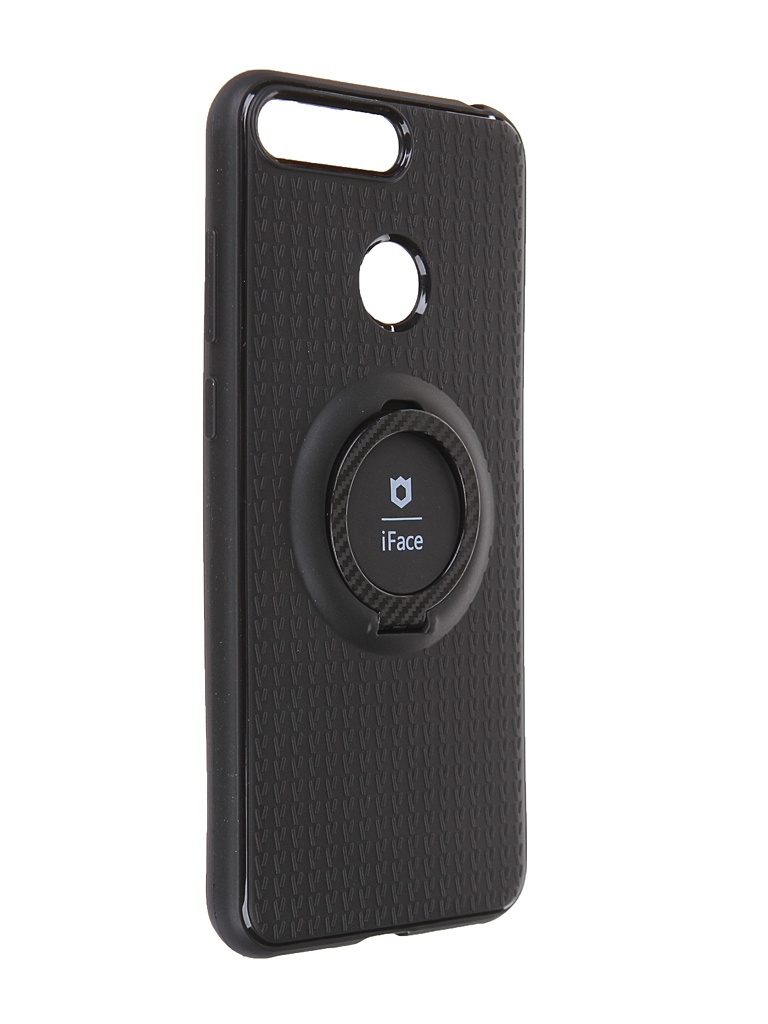 Чехол Innovation для Honor 7A Pro / 7C Y6 Prime (2018) с держателем iFace и кольцом 19610