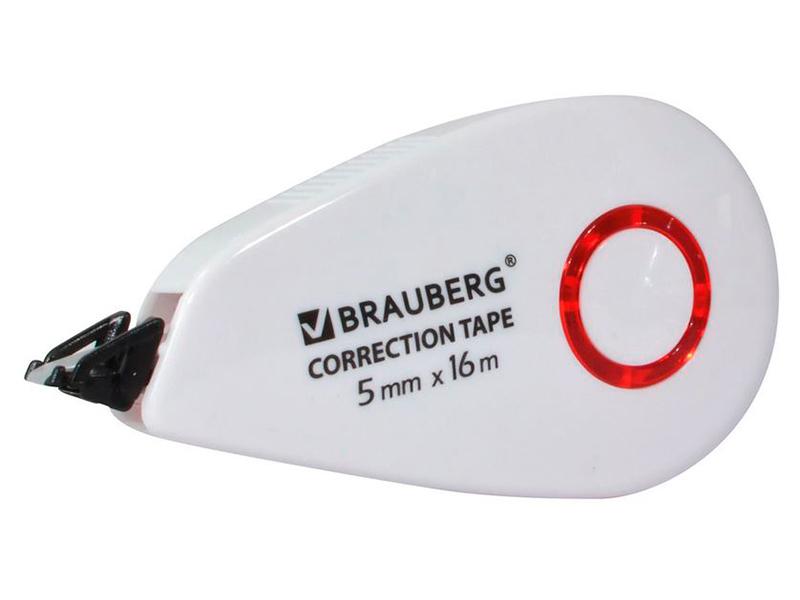 Корректирующая лента Brauberg Super 5mm x 16m 229061