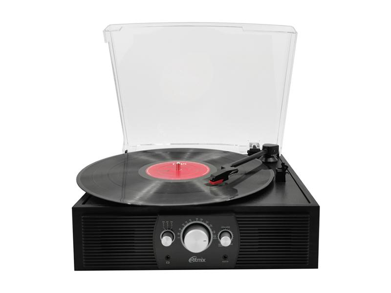 Проигрыватель Ritmix LP-200B Black Wood