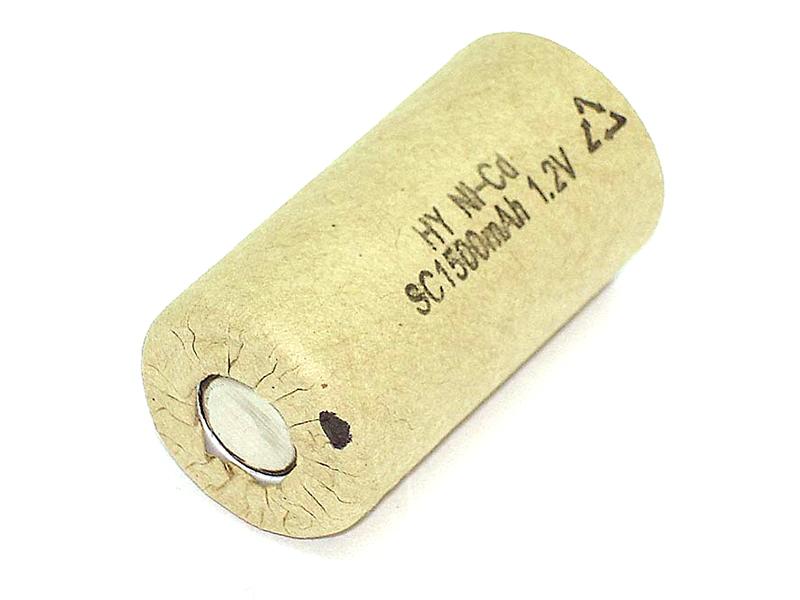 Аккумулятор Vbparts Ni-Cd SC 1.2V 1500mAh 020656