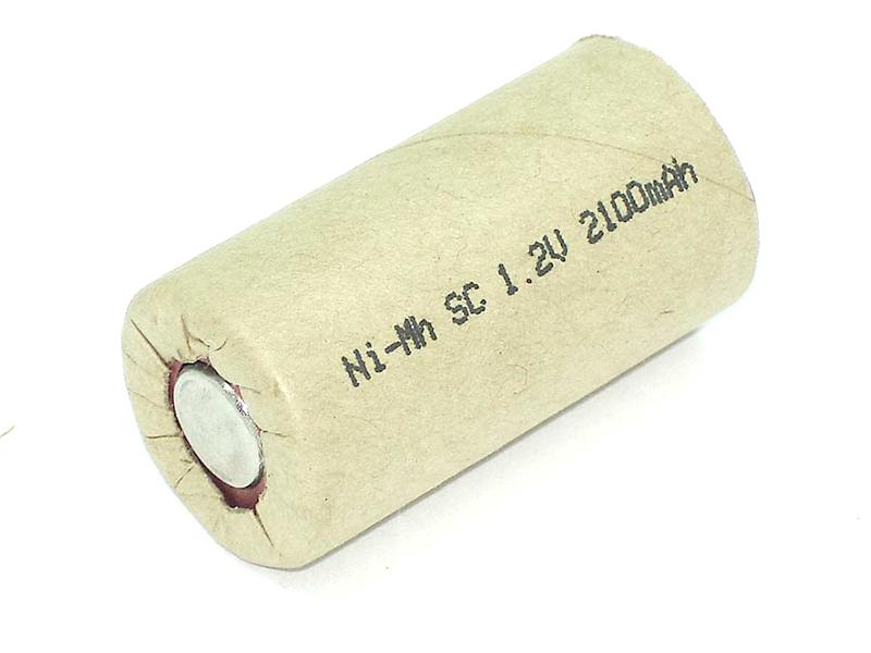 Аккумулятор Vbparts Ni-Mh SC 1.2V 2100mAh 020657