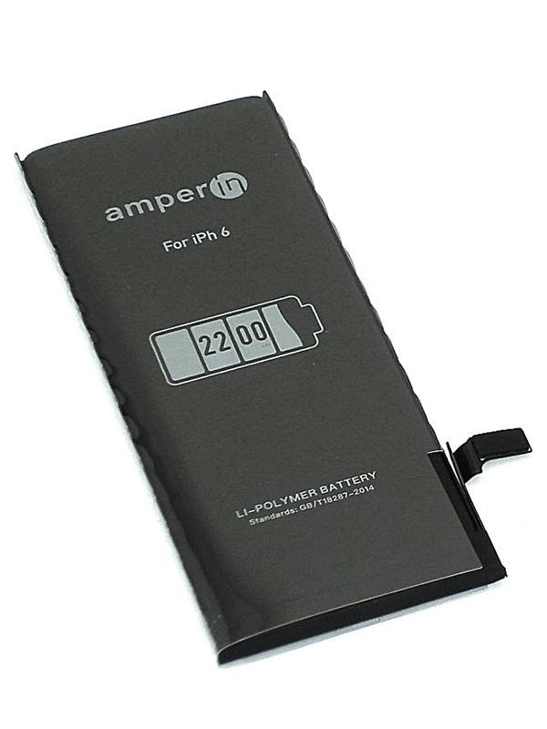 Аккумулятор Vbparts Amperin для APPLE iPhone 6 3.82V 2200mAh 074515