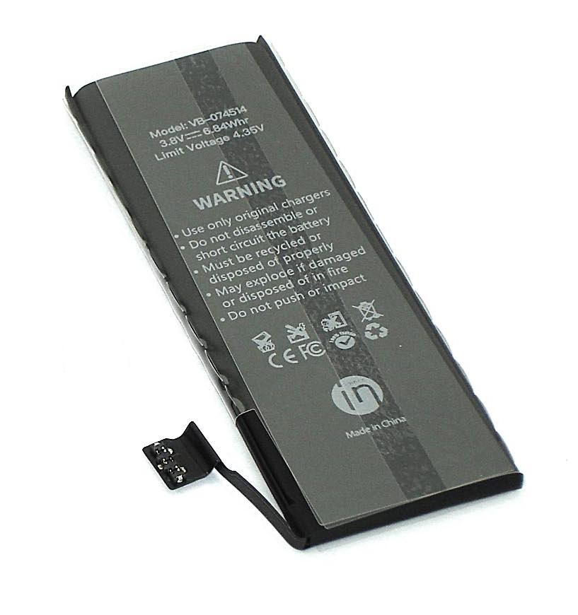 Аккумулятор Vbparts Amperin для APPLE iPhone 5S 3.8V 1800mAh 074514