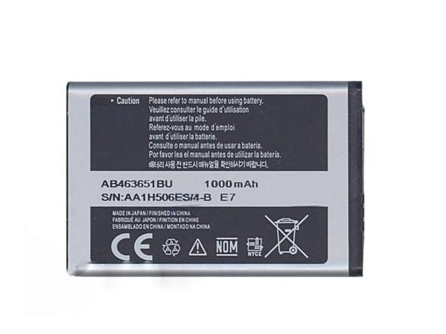 Фото - Аккумулятор Vbparts (схожий с AB463651BU/AB463651BE) для Samsung SGH-F400 / SGH-F408 / GT-M7500 3.7V 3.55Wh 016288 аккумулятор vbparts схожий с eb ba530abe для samsung galaxy a8 2018 3000mah 062310