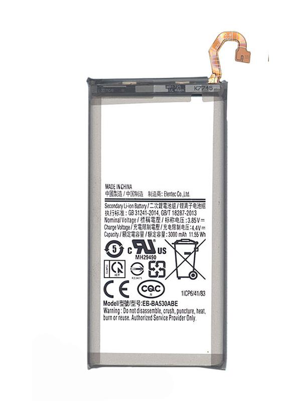 Аккумулятор Vbparts (схожий с EB-BA530ABE) для Samsung Galaxy A8 2018 3000mAh 062310
