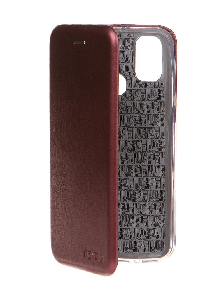 Чехол Neypo для Samsung Galaxy M21/M30s 2020 Premium Bordo NSB17000