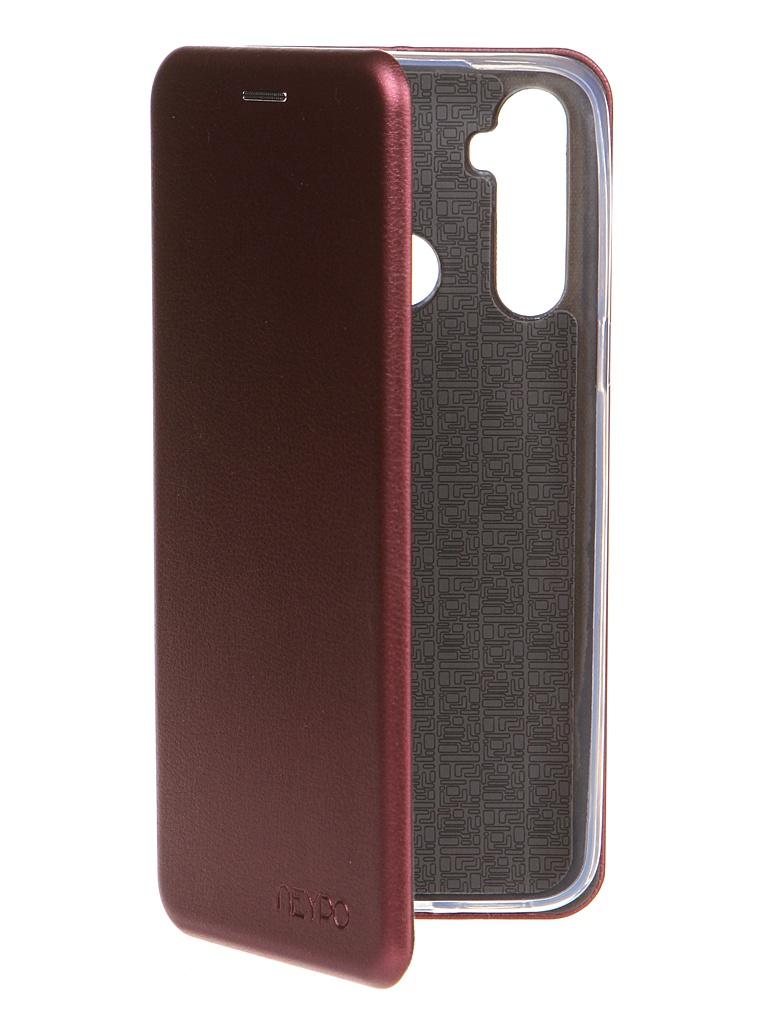Чехол Neypo для Realme C3/ 5/ 6i Premium Bordo NSB20815