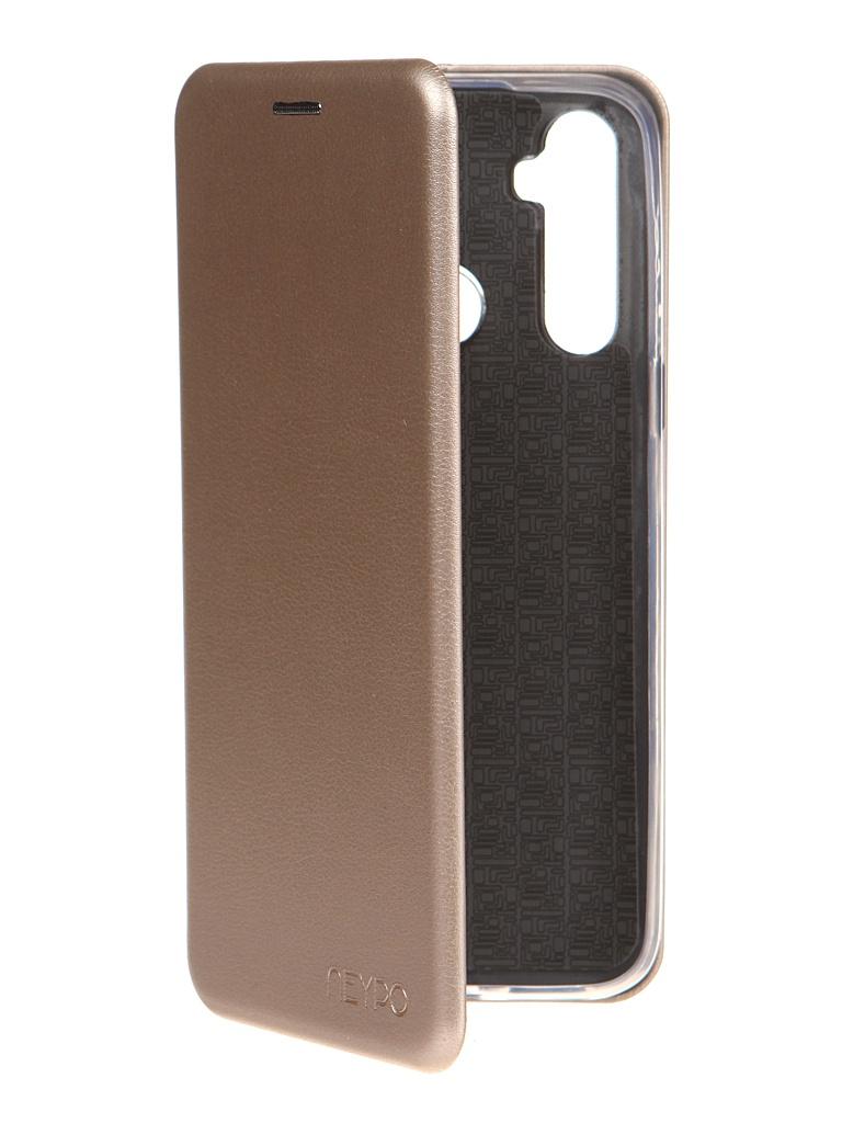 Чехол Neypo для Realme C3/ 5/ 6i Premium Gold NSB20816
