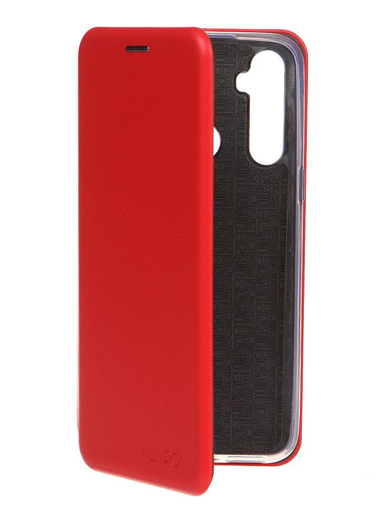 Чехол Neypo для Realme C3/ 5/ 6i Premium Red NSB19445