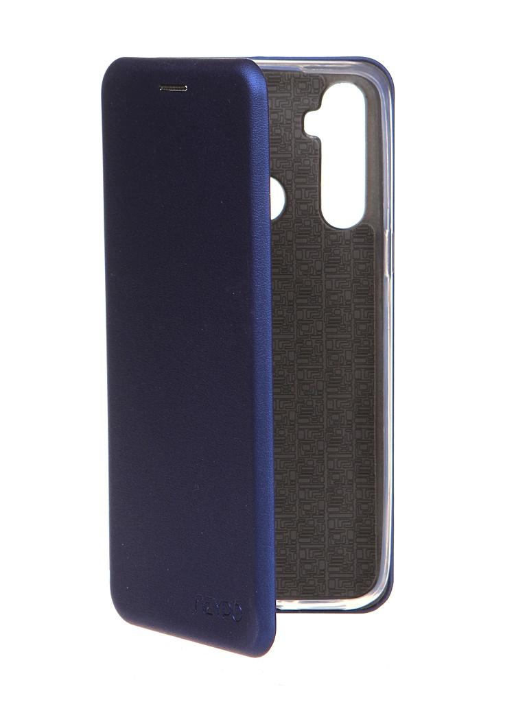 Чехол Neypo для Realme C3/ 5/ 6i Premium Blue NSB19443