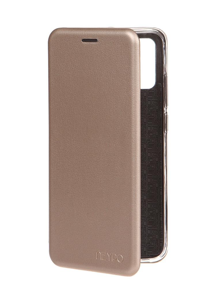 Чехол Neypo для Samsung Galaxy A02s 2021 Premium Gold NSB20812