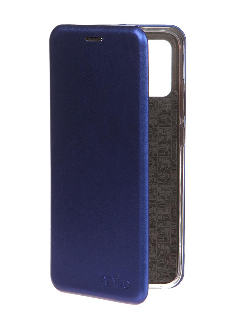 Чехол Neypo для Samsung Galaxy A02s 2021 Premium Blue NSB20809
