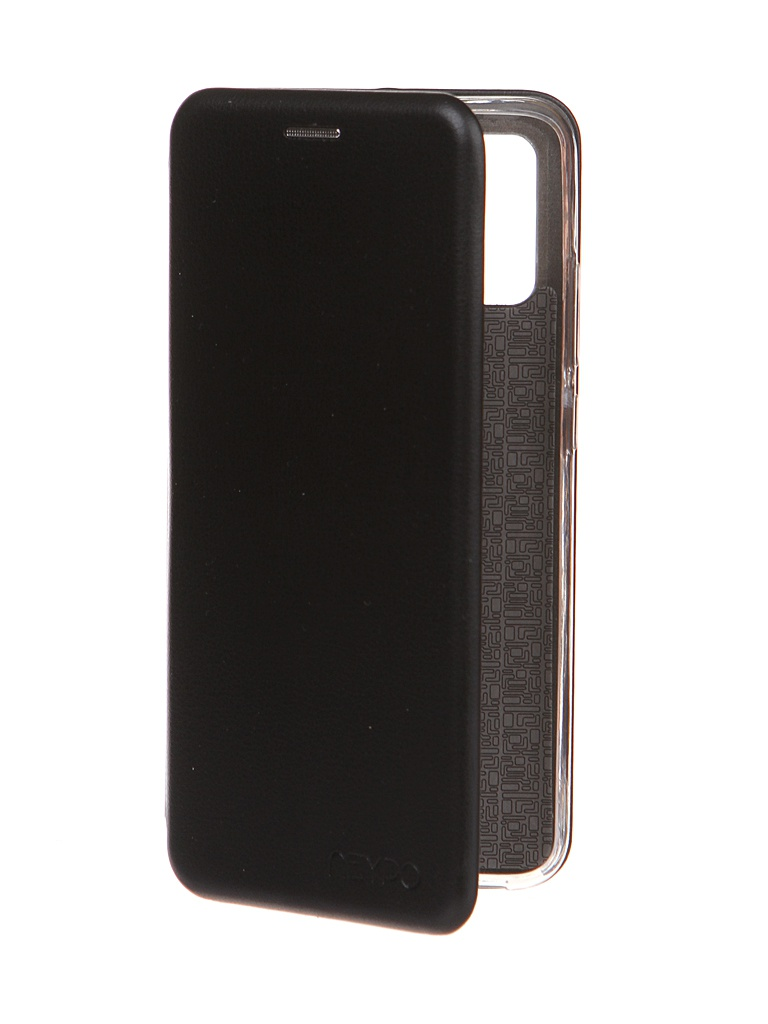 Чехол Neypo для Samsung Galaxy A02s 2021 Premium Black NSB20810