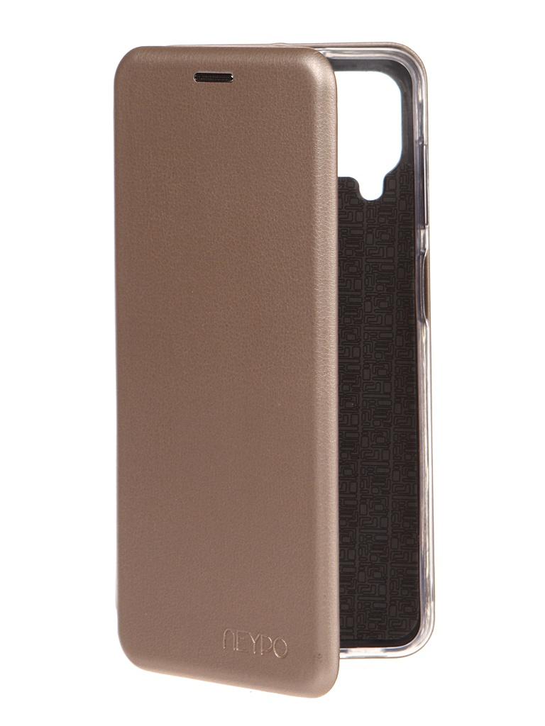 Чехол Neypo для Samsung Galaxy A12 2021 Premium Gold NSB20802
