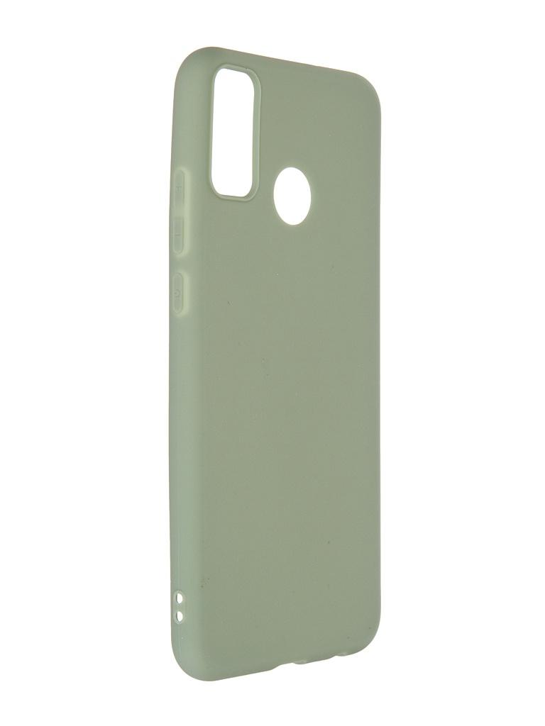 Чехол Neypo для Honor 9X Lite Soft Matte Silicone Olive NST20833