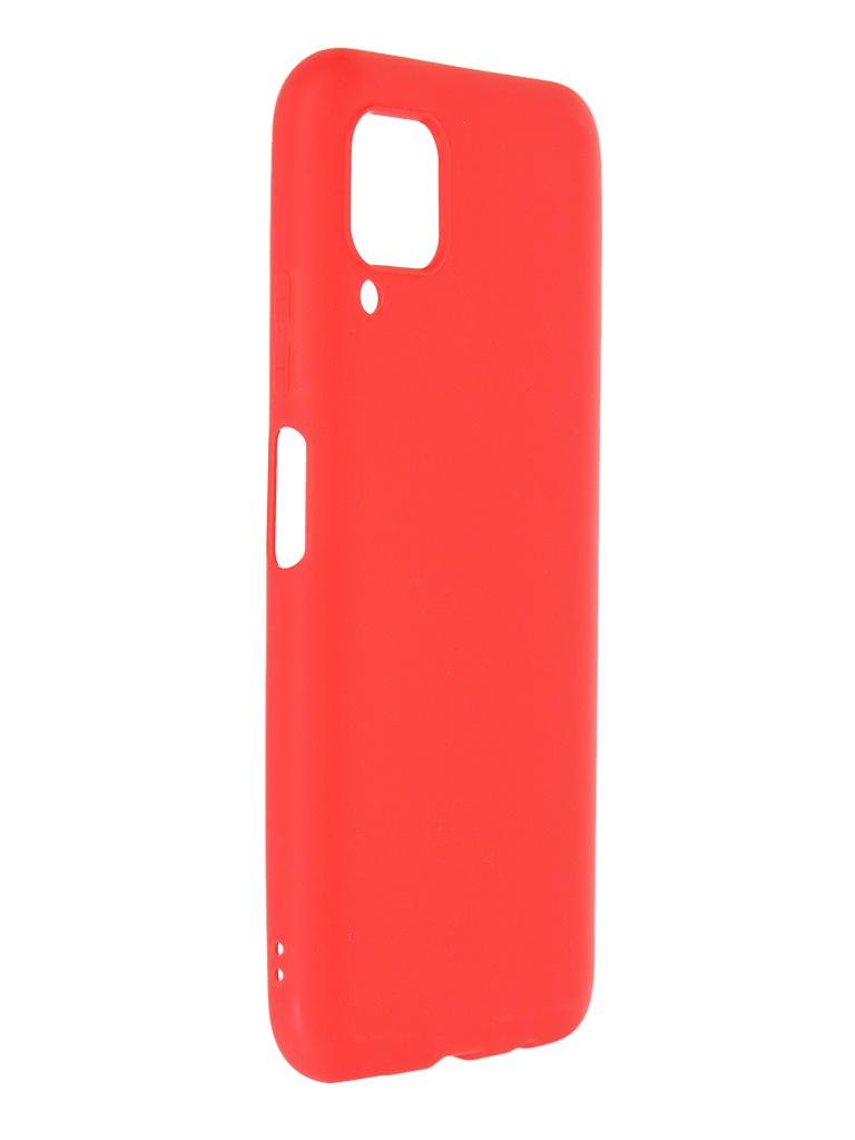 Чехол Neypo для Huawei P40 Lite Soft Matte Silicone Red NST17142
