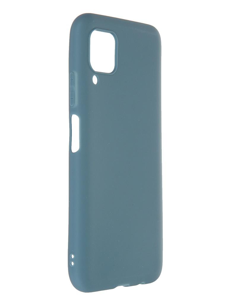 Чехол Neypo для Huawei P40 Lite Soft Matte Silicone Gray Green NST18221