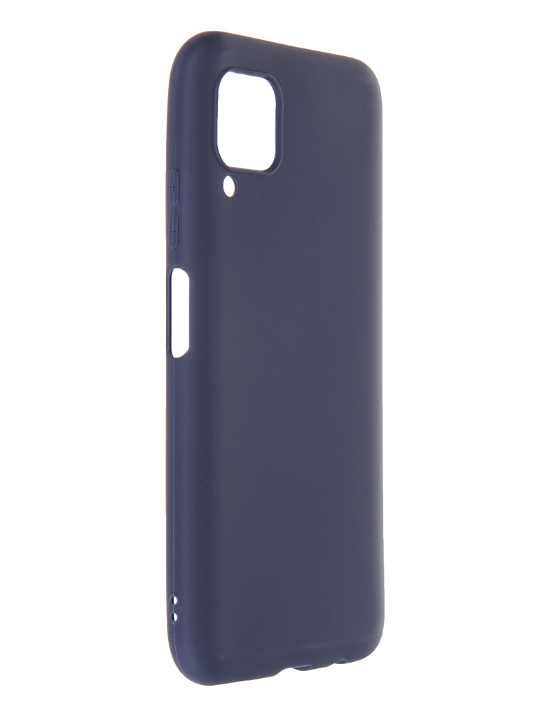 Чехол Neypo для Huawei P40 Lite Soft Matte Silicone Dark Blue NST17140