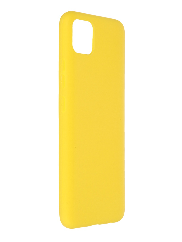 Чехол Neypo для Realme C11 Soft Matte Silicone Yellow NST18927