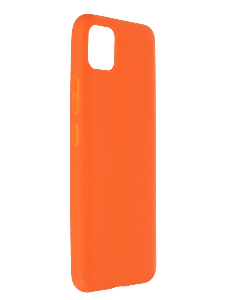 Чехол Neypo для Realme C11 Soft Matte Silicone Orange NST18930
