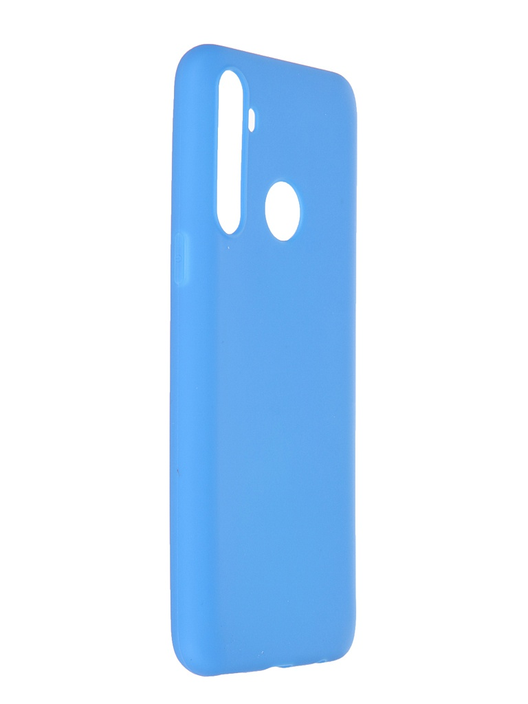 Чехол Neypo для Realme C3 / 5 6i Soft Matte Silicone Blue NST18939