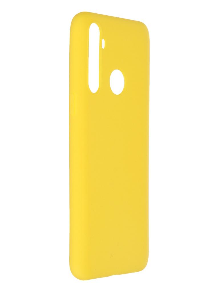 Чехол Neypo для Realme C3 / 5 6i Soft Matte Silicone Yellow NST18940
