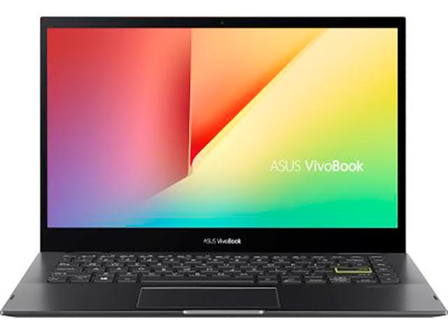 Ноутбук ASUS VivoBook Flip TP470EZ-EC051T 90NB0S11-M00770 (Intel Core i7-1165G7 2.8GHz/16384Mb/512Gb SSD/Intel Iris Xe Max 4096Mb/Wi-Fi/Bluetooth/Cam/14/1920x1080/Windows 10 64-bit)
