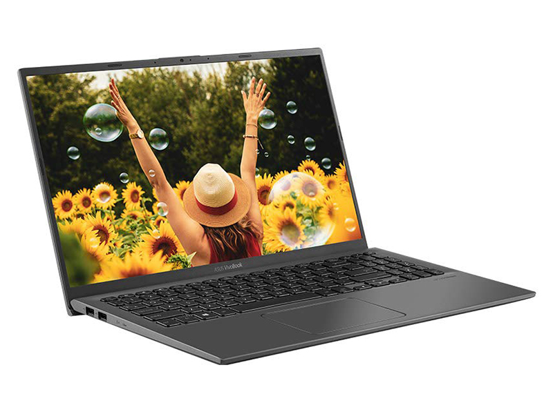 Ноутбук ASUS VivoBook X512JP-BQ298T 90NB0QW3-M04170 (Intel Core i7-1065G7 1.3Ghz/8192Mb/512Gb SSD/nVidia GeForce MX330 2048Mb/Wi-Fi/Bluetooth/Cam/15.6/1920x1080/Windows 10 64-bit)