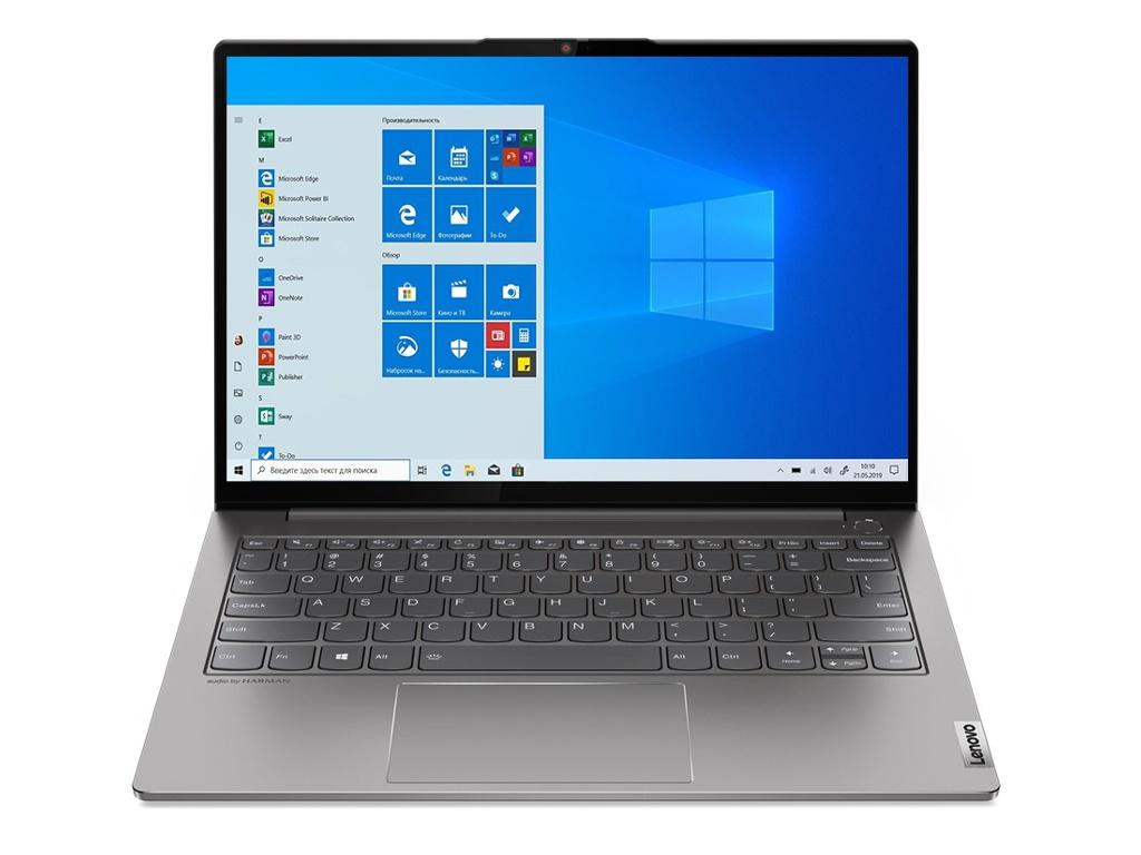 Ноутбук Lenovo ThinkBook 13s G2 20V90037RU (Intel Core i7-1165G7 2.8 GHz/8192Mb/512Gb SSD/Intel Iris Xe Graphics/Wi-Fi/Bluetooth/Cam/13.3/2560x1600/Touchscreen/Windows 10 Pro 64-bit)
