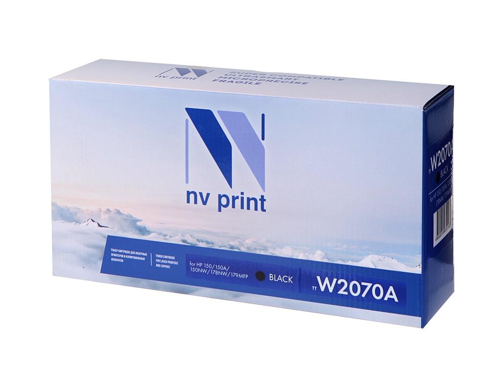 Картридж NV Print NV-W2070A Black для HP 150/150A/150NW/178NW/179MFP 1000k