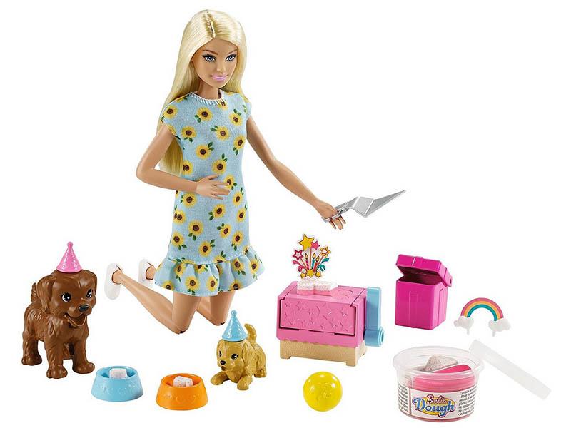 Кукла Mattel Barbie с питомцами и аксессуарами GXV75