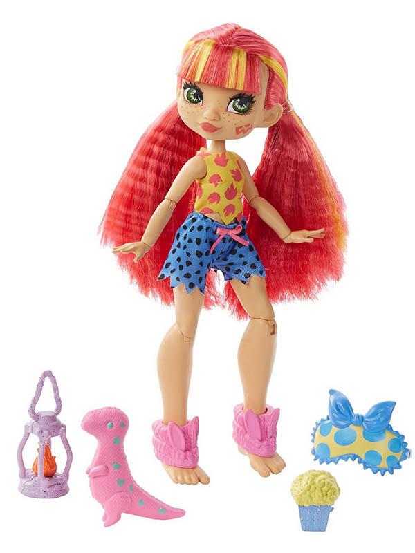 Фото - Кукла Mattel Роларай Пижамная вечеринка GTH01 кукла mattel cave club® роралай пижамная вечеринка gth01