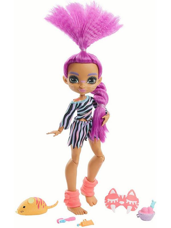 Фото - Кукла Mattel Эмберли Пижамная вечеринка GTH02 кукла mattel cave club® роралай пижамная вечеринка gth01
