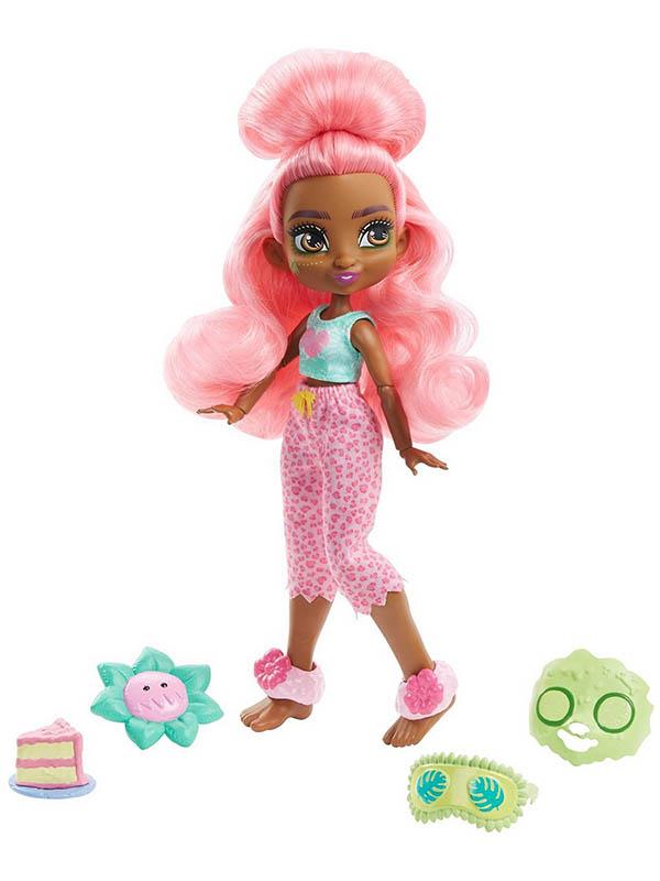 Фото - Кукла Mattel Фернесса Пижамная вечеринка GTH03 кукла mattel cave club® роралай пижамная вечеринка gth01