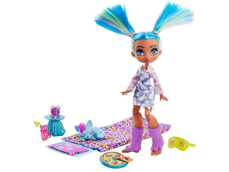 Фото - Кукла Mattel Телла Пижамная вечеринка GTH06 кукла mattel cave club® роралай пижамная вечеринка gth01
