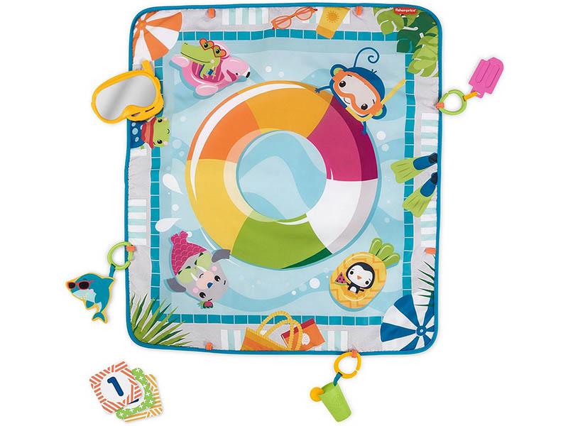Фото - Развивающий коврик Mattel Fisher-Price Водный всплеск GRR44 развивающий коврик fisher price джамбо