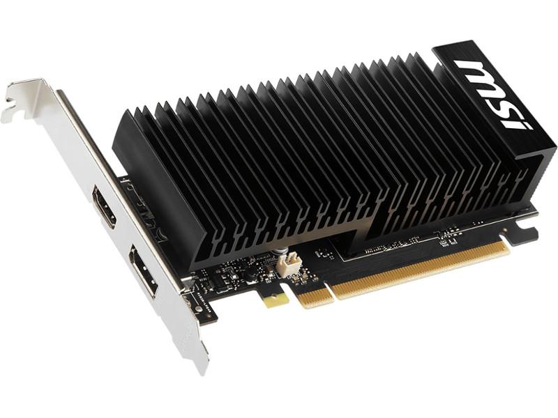 Видеокарта MSI GeForce GT 1030 1189Mhz PCI-E 3.0 2048Mb DDR4 2100Mhz 64 bit DP HDMI HDCP GT 1030 2GHD4 LP OC Выгодный набор + серт. 200Р!!!
